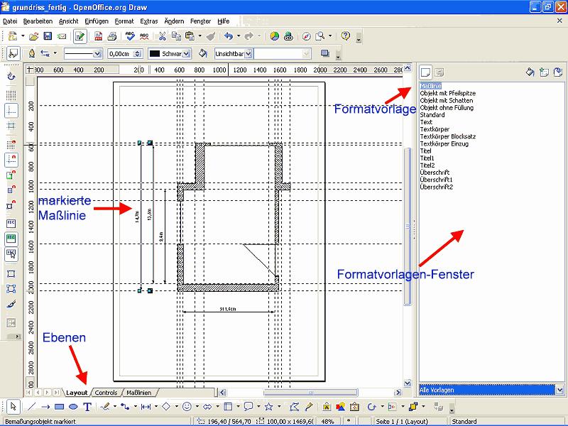 openoffice draw 3.0. Abbildung 3: Das