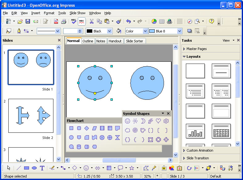 Cover Pages Free OpenOfficeorg Office Suite Supports OASIS - Download openoffice impress