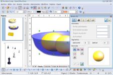 Pantallazo de Apache OpenOffice Draw