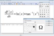 Pantallazo de Apache OpenOffice Math