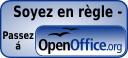 Soyez en règle. Passez à OpenOffice.org