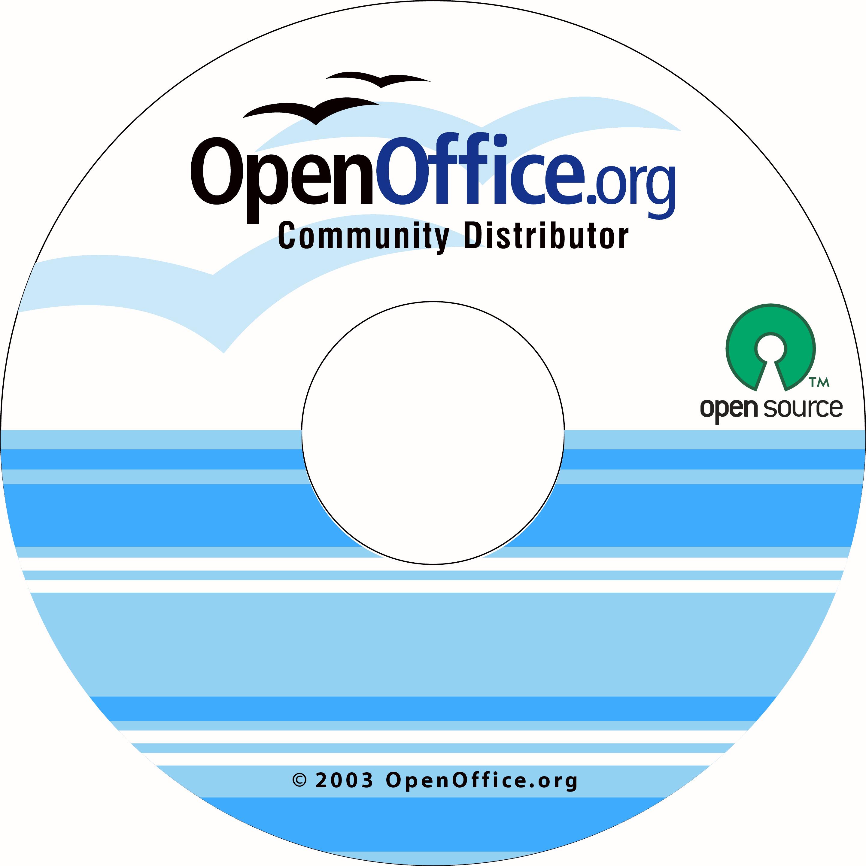 OpenOffice.org CD Art - previous versions