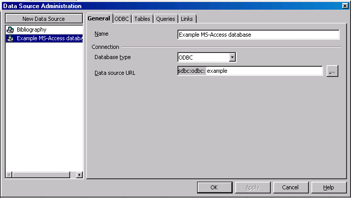 HOW-TO use Microsoft Access databases from within OpenOffice org 1 1