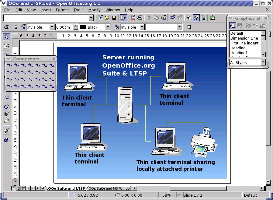 Openoffice 11 Features