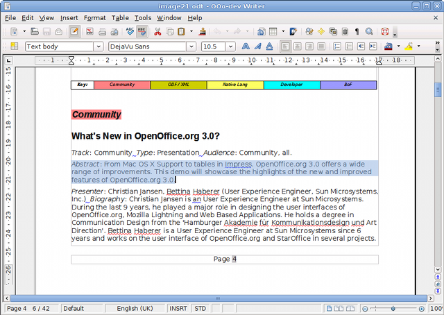 Openofficeorg 31 New Features