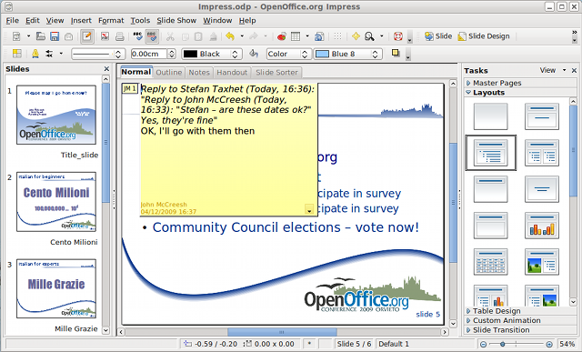 OpenOffice org 3 2 New Features