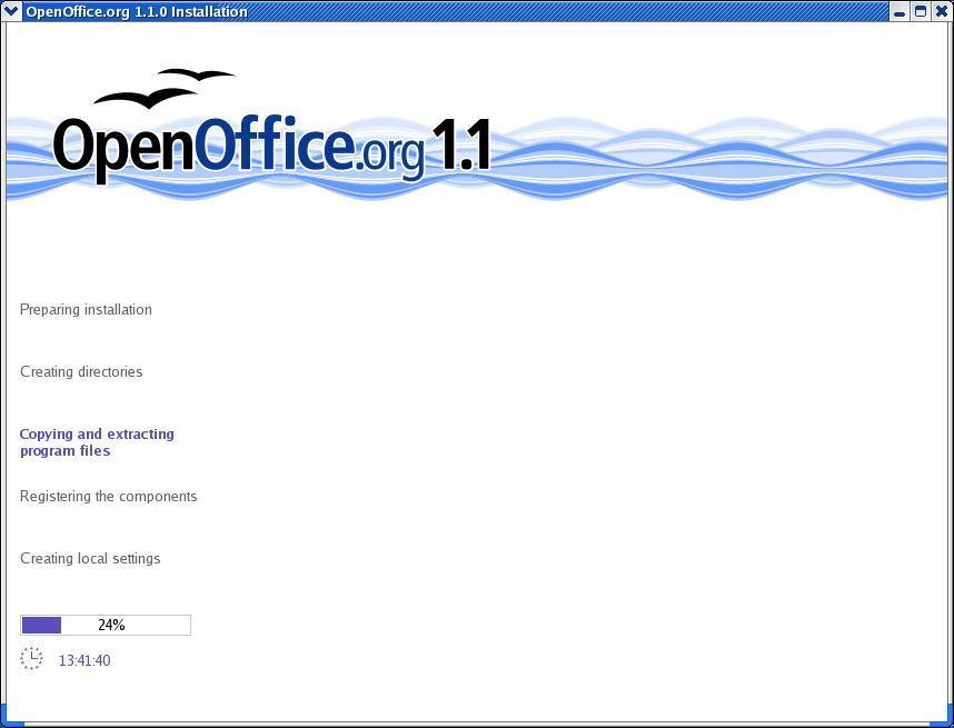 Setup Guide OpenOffice org 1 1