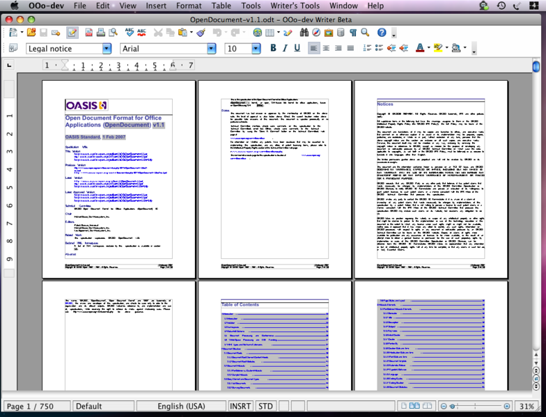 OpenOffice org 3 0 Beta Features