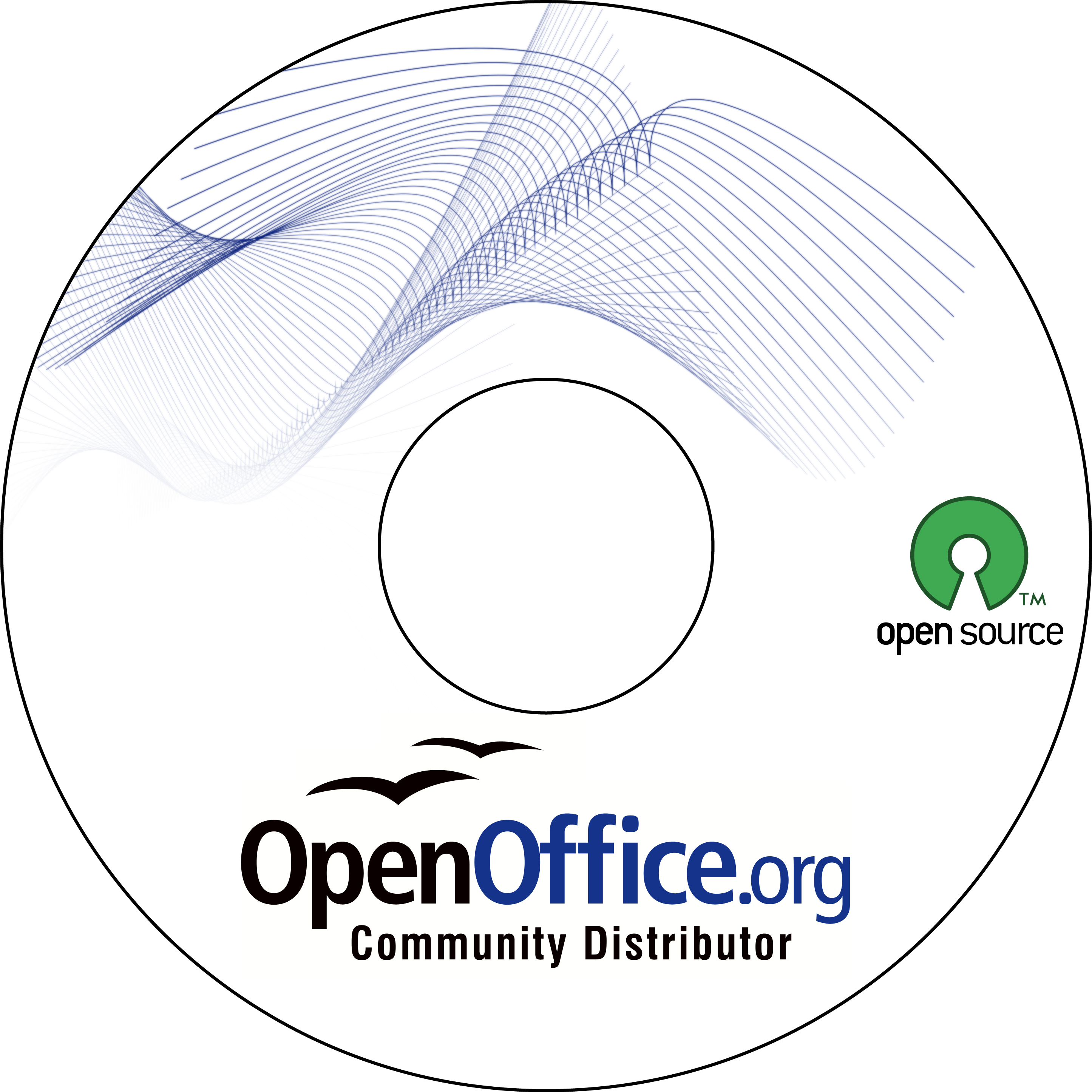 OpenOfficeCD Art previous versions – Cd Label