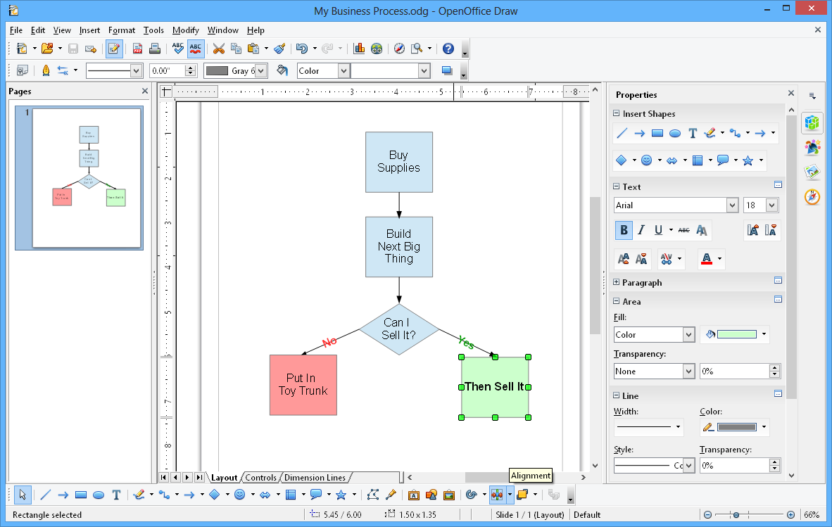 Apache Openoffice Draw Steps To Create Block Diagram