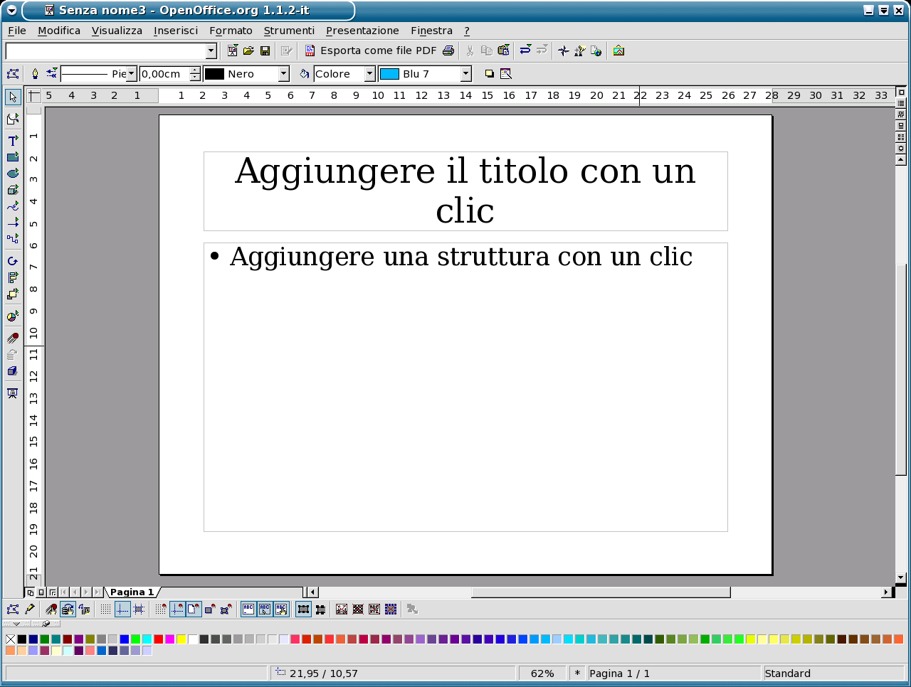 Impress itg screenshots openoffice 11 impress altavistaventures Image collections